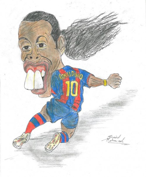 Ronaldo de Assis Moreira (born 21 March 1980), commonly known as Ronaldinho or Ronaldinho Gaúcho, is a Brazilian professional footballer and ambassador for Spanish club FC Barcelona. He played mostly as an attacking midfielder, but was also deployed as a forward or a winger. He played the bulk of his career at European clubs Paris Saint-Germain, Barcelona and Milan as well as playing for the Brazilian national team. Often considered one of the best players of his generation and regarded by many as one of the greatest of all time, Ronaldinho won two FIFA World Player of the Year awards and a Ballon d'Or. He was renowned for his technical skills and creativity; due to his agility, pace and dribbling ability, as well as his use of tricks, overhead kicks, no-look passes and accuracy from free-kicks.