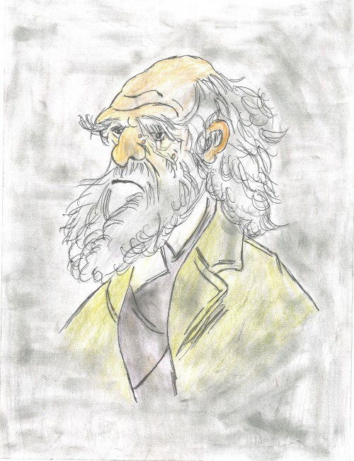 Caricature of Charlie Drawin A4 Charles Robert Darwin, FRS FRGS FLS FZS (12 February 1809 – 19 April 1882) was an English naturalist, geologist and biologist, best known for his contributions to the science of evolution. He established that all species of life have descended over time from common ancestors and, in a joint publication with Alfred Russel Wallace, introduced his scientific theory that this branching pattern of evolution resulted from a process that he called natural selection, in which the struggle for existence has a similar effect to the artificial selection involved in selective breeding.